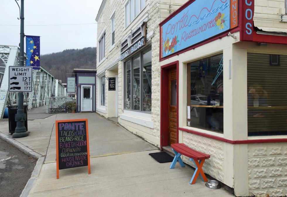Ponte Restaurante now open in Shelburne Falls. Recorder/Paul Franz - Paul Franz                       |