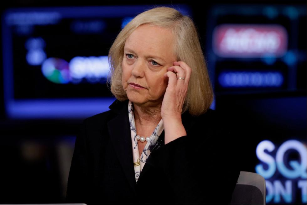 meg whitman and hewlett packard Meg whitman knows a thing or two about herculean tasks hewlett-packard ceo meg whitman coffee with meg most days are a blur for whitman.