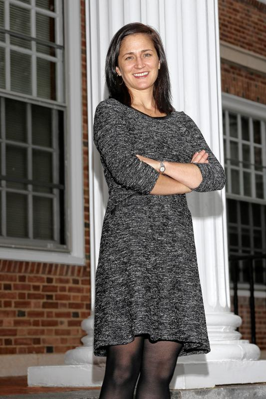 Molly Naber at Tuck school (MBA) for the Enterprise - Gloria Towne  