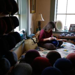 Cottage Industry: Canaan Fiber Artist Builds Her Hobby Into a Business