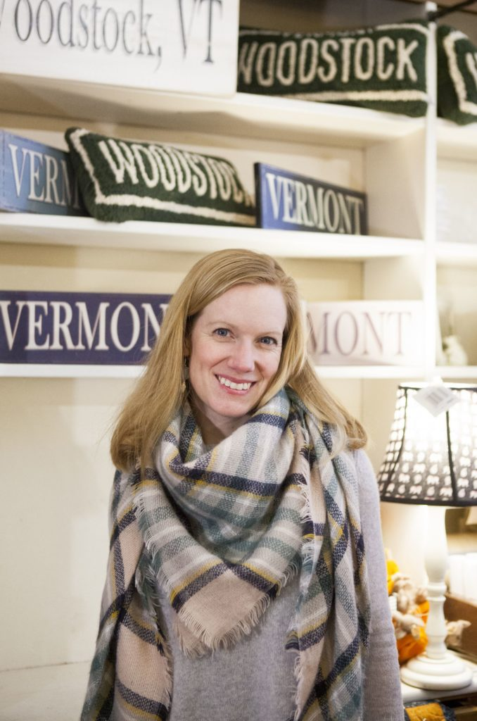 ( SUCCESS STORY  Clover Gift Shop owner Patricia Eames in her Woodstock store.