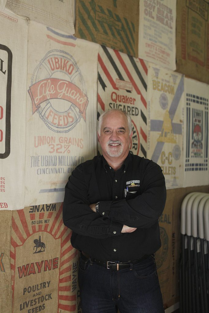 Curt Jacques, co-owner of West Lebanon Feed and Supply, poses for a portrait at the store on Wednesday, February 22, 2017, in West Lebanon, N.H. (Valley News - Jovelle Tamayo) Copyright Valley News. May not be reprinted or used online without permission. Send requests to permission@vnews.com.
