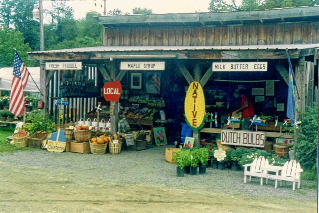 The Woodstock Farmers' Market in 1992.(Woodstock Farmers' Market photograph)