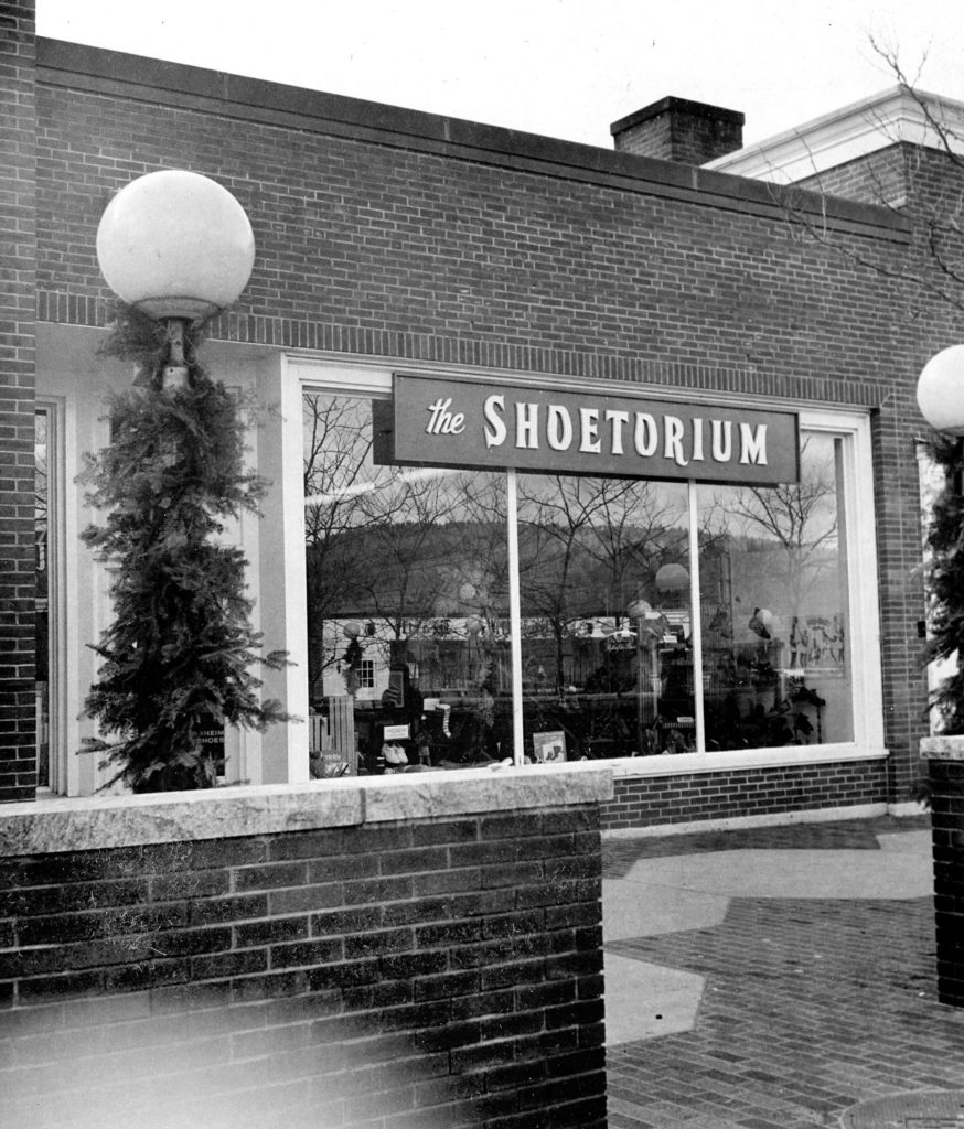 The Shoetorium on the Lebanon Mall in late 1975. City Center Ballet is in the location in 2018. (Valley News photograph) Copyright Valley News. May not be reprinted or used online without permission. Send requests to permission@vnews.com.