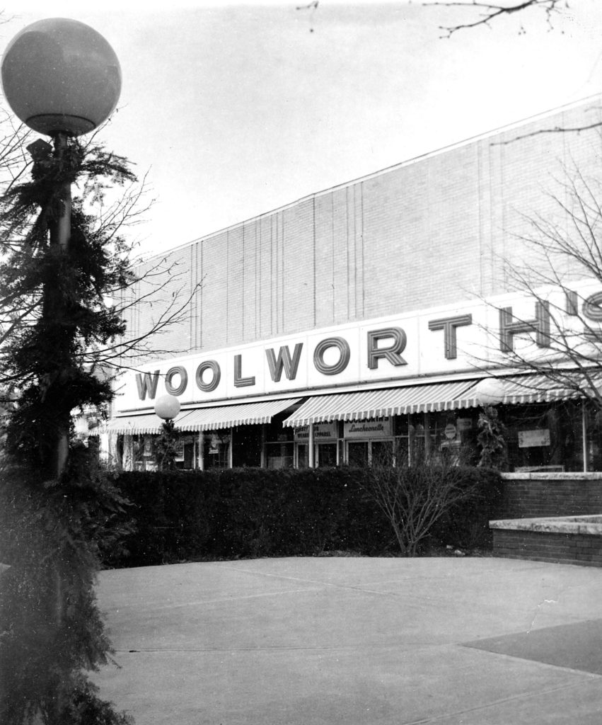 Woolworth's on the Lebanon Mall in late 1975. River Valley Community College's Lebanon Academic Center is in the location in 2018. (Valley News photograph) Copyright Valley News. May not be reprinted or used online without permission. Send requests to permission@vnews.com.
