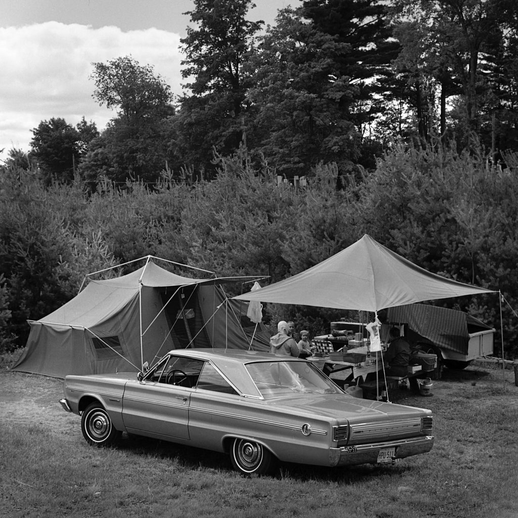 The Camping Scene: Home Away From Home, reads the caption in the July 27, 1966, edition of the Valley News. (Valley News - Larry McDonald) Copyright Valley News. May not be reprinted or used online without permission. Send requests to permission@vnews.com.