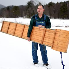 Made in the Upper Valley: Norton's Vermont Toboggans brings back the joy in sledding