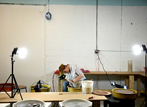 In Demand: Hand-crafted pottery business pulls through during pandemic